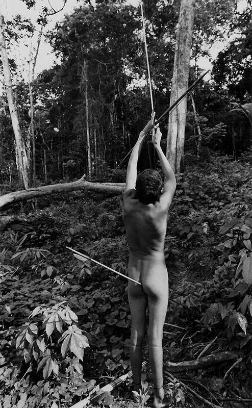 Comunidade  dos índios Zoé's.  Oriximiná, Pará, Brasil. Foto André Dusek