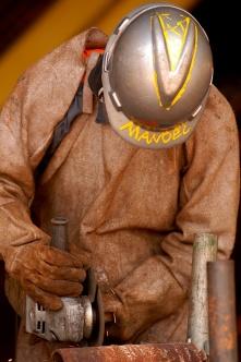 Inaugurada em 1995, a Alunorte assume posição de maior produtora de alumina do mundo. Barcarena Pará Brasil. Paulo Santos 2006.