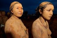 XI Jogos indígenas. Porto Nacional, Tocantins, Brasil. Foto Paulo Santos. 08/11/2011