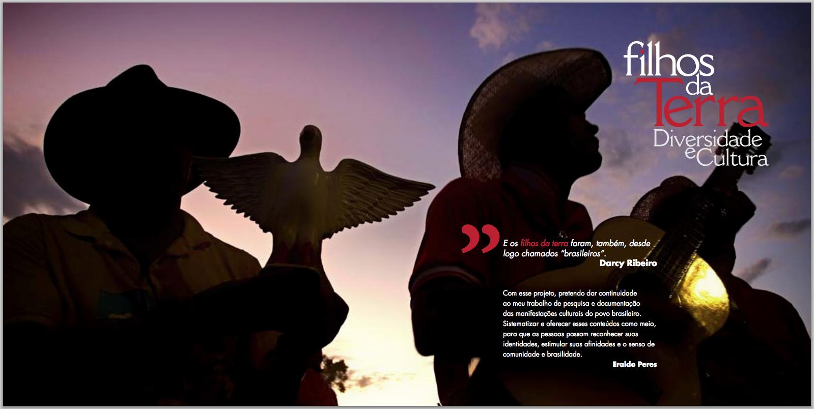 Com este projeto, Eraldo Peres dá continuidade ao trabalho de pesquisa e documentação das manifestações culturais do povo brasileiro.