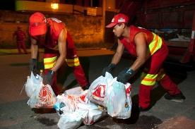 Coleta de lixo urbano