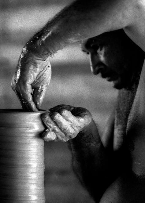 Ceramista. Icoaraci, Belém, Pará, Brasil. Foto Paulo Santos 1982