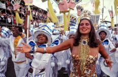 Fafá de Belém. Carnaval em Belém . 1985 Foto Paulo Santos