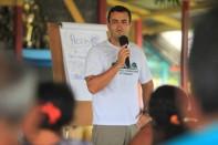 Bailique. Thiago Cunha de Almeida , Procurador do MPF do Amapá, participa do evento. Foto Paulo Santos 15/09/2016