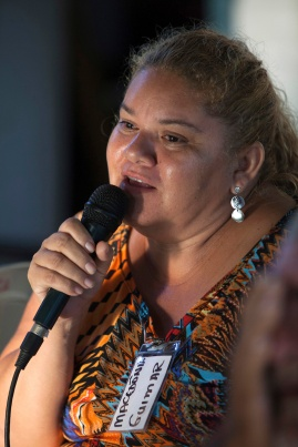 Guimar, durante o VIII Encontro do Protocolo Comunitário do Bailique. Foto Paulo Santos Set 2016