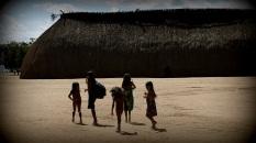 Comunidade Kamaiur· 50 Anos do Parque IndÌgena do XinguMato Grosso, Brasil.Foto Eric Stoner06/2011